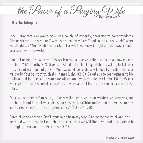 30 Prayers from the Power of a Praying Wife and Parent