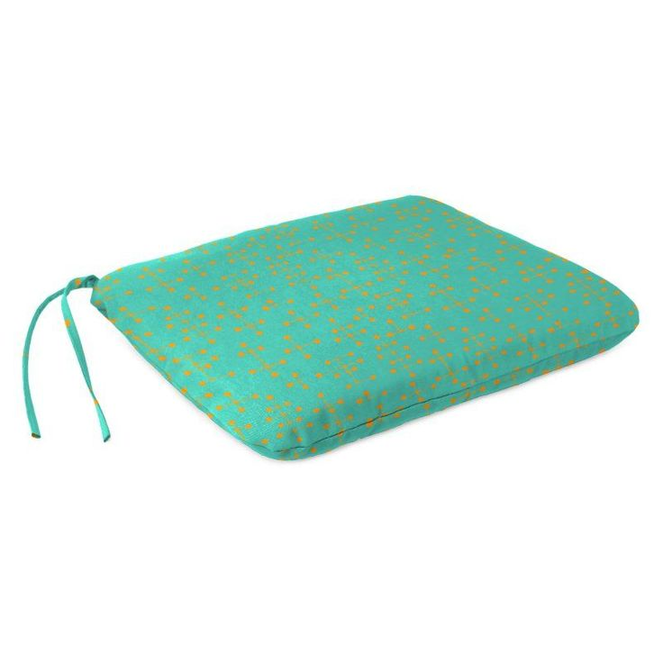 Coral Coast Mid-Century Modern 17 x 17 in. Outdoor Seat Pad - 9053PK1-4277C