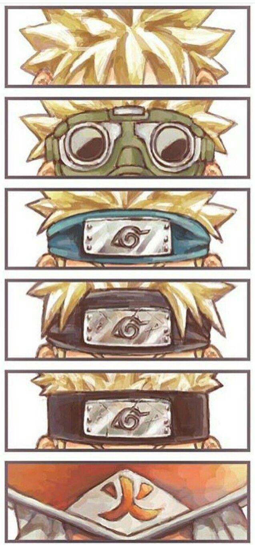 """""""Por que eu vou ser melhor do que todos eles! Eu,Naruto,o próximo Hokage,uma lenda ninja! As pessoas vão parar de desprezar e olhar pra mim!"""