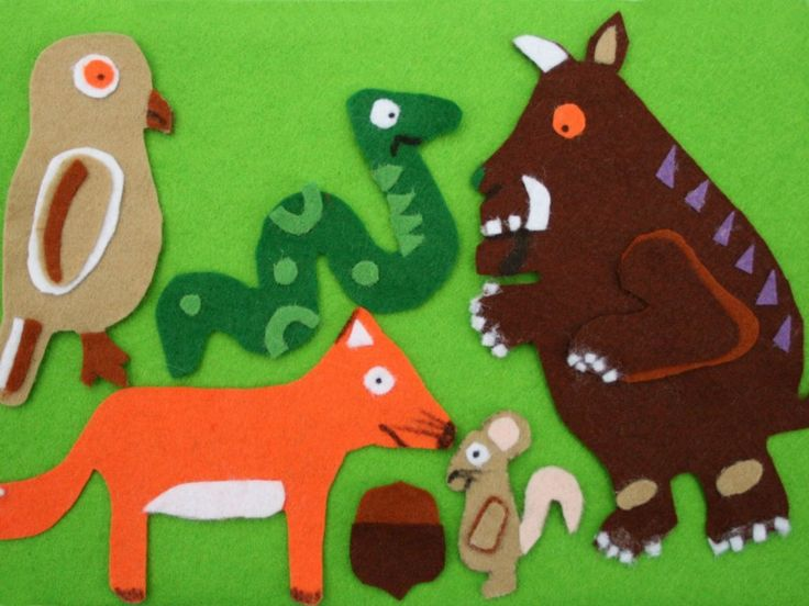The Gruffalo - Red Ted Art's Blog