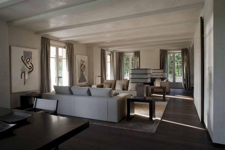 Private villa saint tropez armani casa collection for Giorgio aldo interior designs