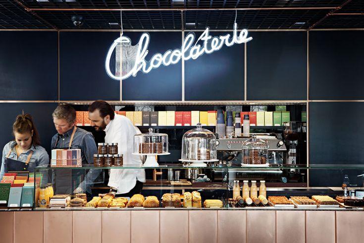 La chocolaterie de Cyril Lignac |MilK decoration