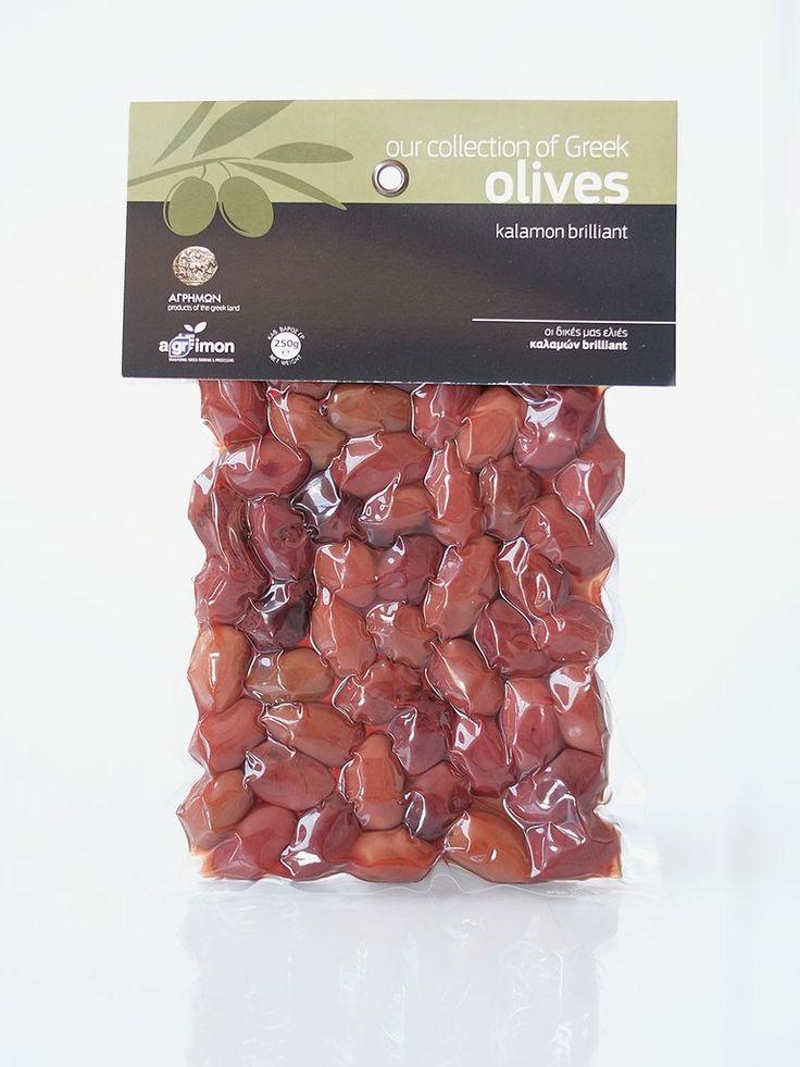 AGRIMON Olives Kalamon Brilliant 250gr