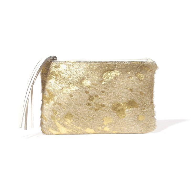 Chloe Cream   Gold - Mooi
