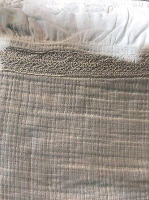 New Piubelle Matelasse Coverlet King White Piu Belle New