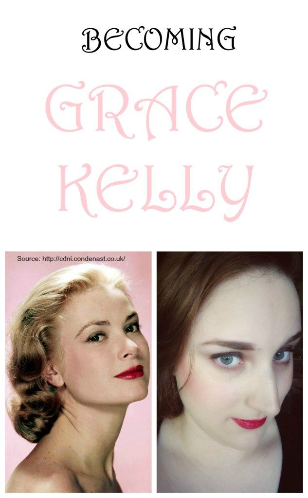 Becoming Grace Kelly. Click to watch me transform into the elegant classic beauty, Grace Kelly. | Beauty Blogger | Makeup Tutorial