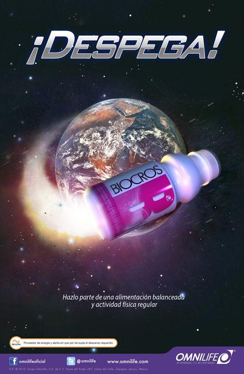 Biocros: excelente nutriente que da ENERGIA de 6 a 8 horas..para trabajos nocturnos es ideal...