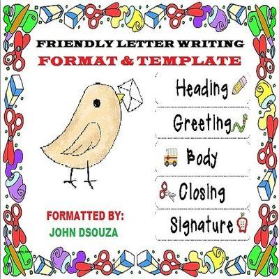 Best 25+ Informal letter writing ideas on Pinterest English - friendly letter format
