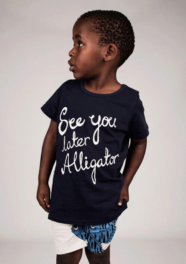 SNEAK PEEK MINI RODINI SS15: See You Later Alligator! - UrbanMoms.nl