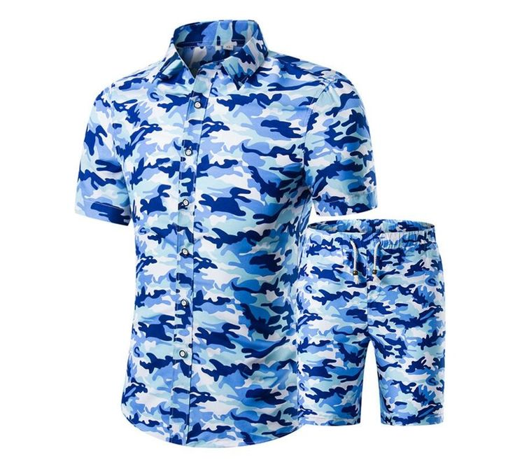 ==> [Free Shipping] Buy Best 2017 New Arrival Men Shirt Suit Camouflage Summer Style Short-sleeved Soft Casual Slim Fit Shirt Homme Plus Size M-5XL Online with LOWEST Price | 32812977667