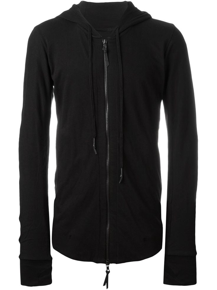 11 By Boris Bidjan Saberi fitted zip hoodie