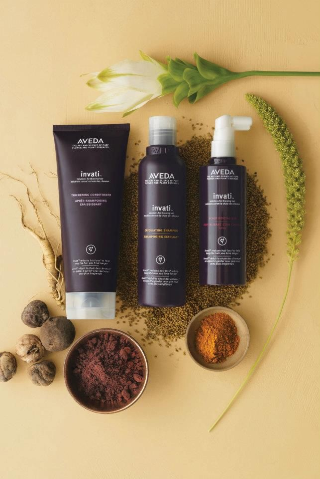 Invati: botanical therapy treatment for thinning hair!