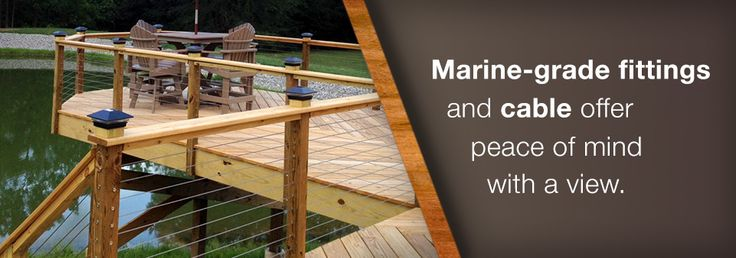 Wood Post Cable Rail Bundles for your Cable Railing System Project