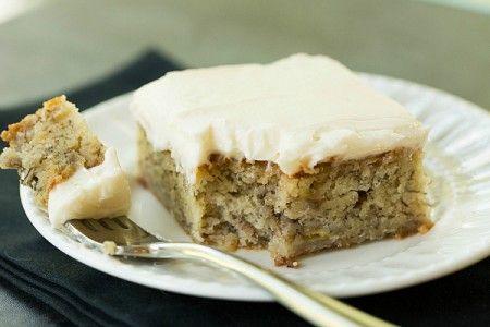 Resep Kue Pisang Keju Krim Frosting