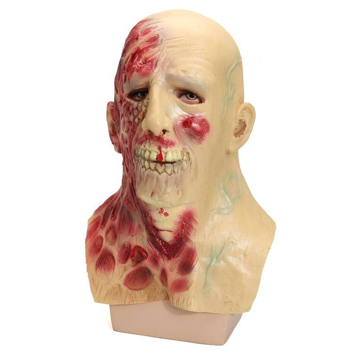 Scary Devil Zombie Mask Halloween Horror Alien Cosplay Full Face Mask