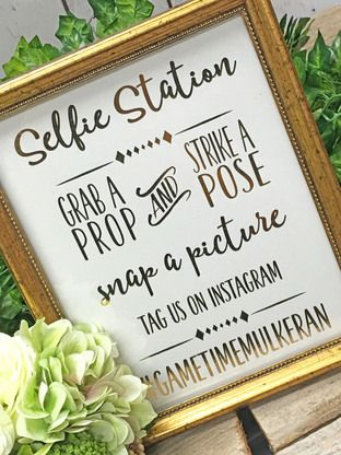 Grab a prop and strike a pose!   Go with the flow and let your guests know to pose for the camera with our Photo Booth Sign, picture perfect for your big event.