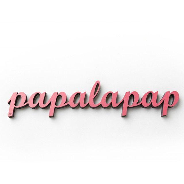 NOGALLERY Papalapap - Deko Schriftzug Holz | selekkt.com