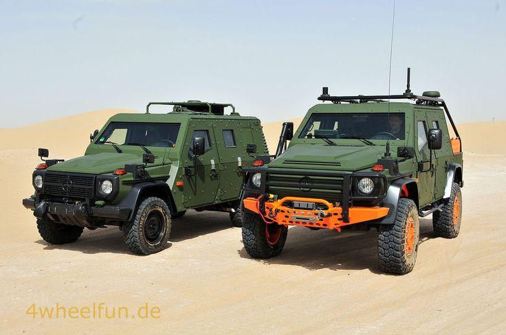 Jubil um 35 jahre mercedes g mercedes exoten aus 35 for Mercedes benz military vehicles