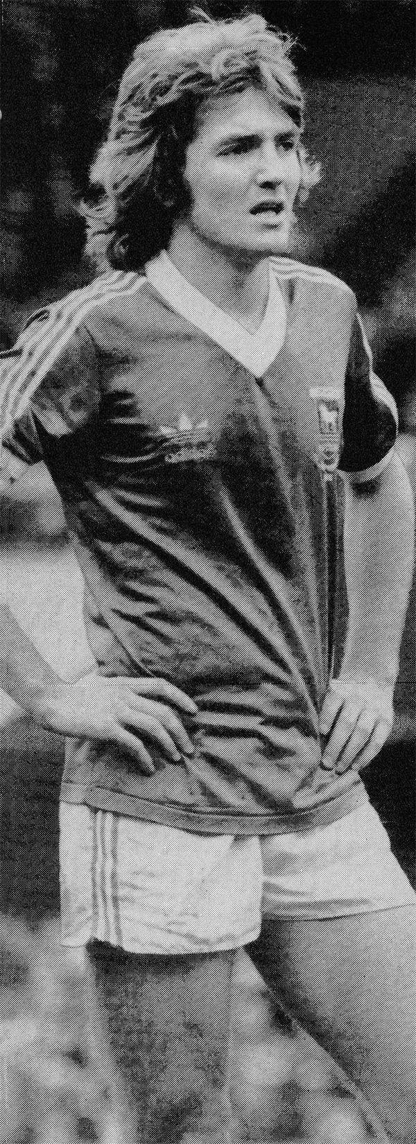 Circa 1980/81. Ipswich Town defender Russell Osman.