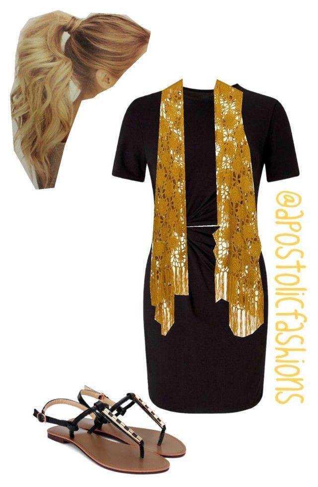 """Apostolic Fashions #1699"" by apostolicfashions on Polyvore featuring Miss Selfridge and Daytrip"