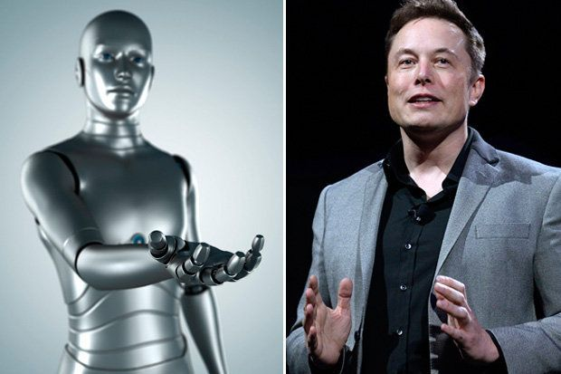 Elon Musk Robots Jobs Takeover AI Universal Income
