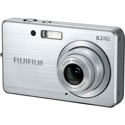Fuji FinePix J10 Silver Compact Camera Fuji FinePix J10 Silver. Designed for consumers seeking an affordable digital camera that doesnt compromise on features, the FinePix J10 is a powerful, easy to use model that fits into a pocket or han http://www.comparestoreprices.co.uk/camera-accessories/fuji-finepix-j10-silver-compact-camera.asp