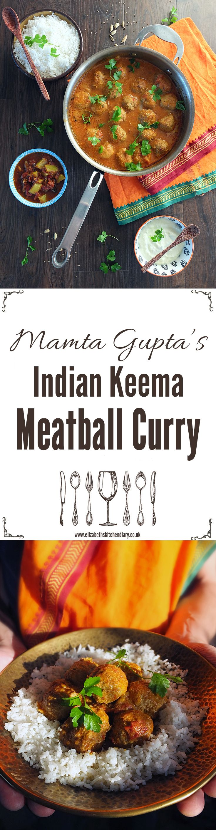 A quick and easy meatball curry recipe made from lamb mince.