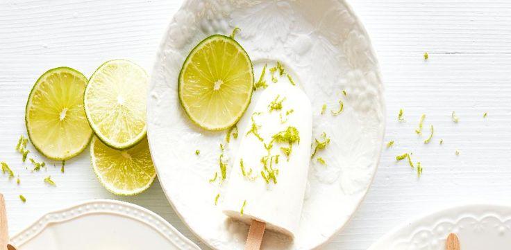Limetkové nanuky s kokosem
