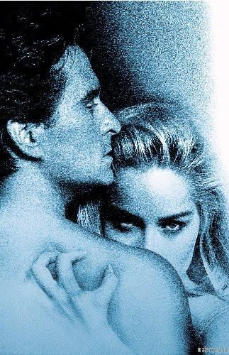 Basic Instinct Movie poster Metal Sign Wall Art 8in x 12in