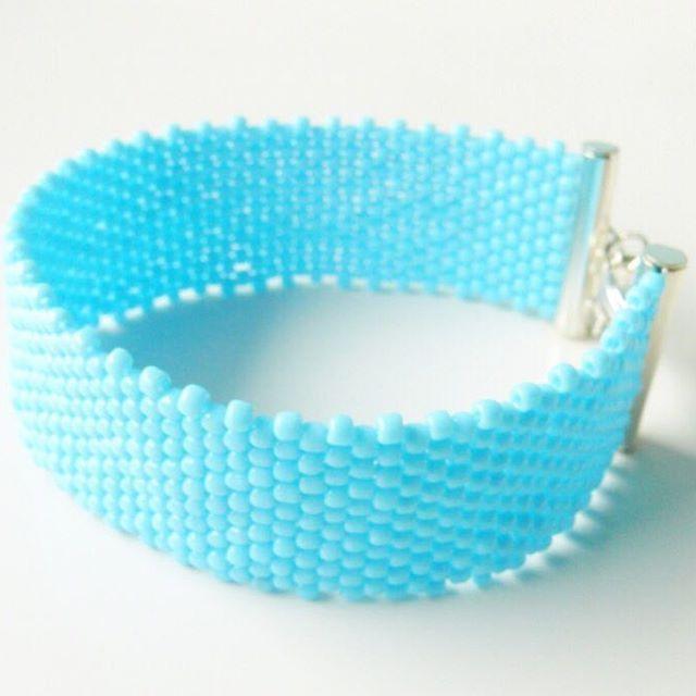#bracelet #bransoletka #beading #beadedbracelet #toho #peyotestitch #mobihandmade