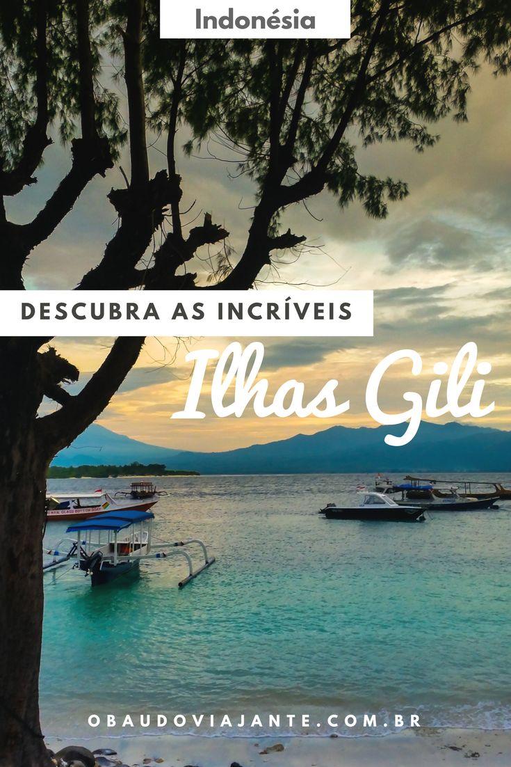 Procurando uma ilha paradisíaca para viajar sem gastar muito? Conheça as Ilhas Gili na Indonésia, uma das mais lindas do Sudeste Asiático.