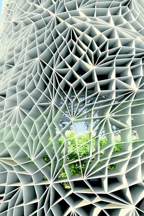 MAN MADE V NATURE - architecture v natural landscapes, geometric v organic, hybrid, spliced
