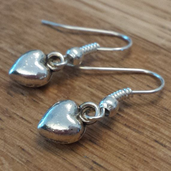 Check out this item in my Etsy shop https://www.etsy.com/uk/listing/252283976/heart-earrings-tibetan-silver-heart