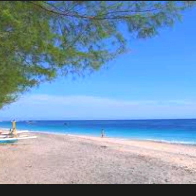 Gili islands near Bali