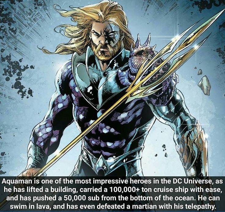 Arthur Curry : Aquaman