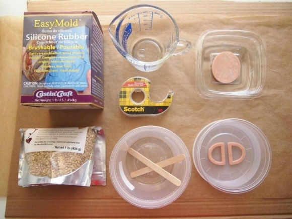 make your own silicone #molds #baking #desserts #diy #craft #ceramics