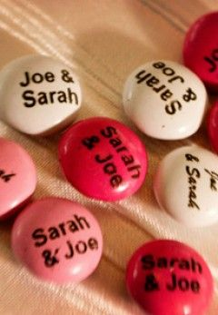 Sweet Wedding Treats - Personalised Candies