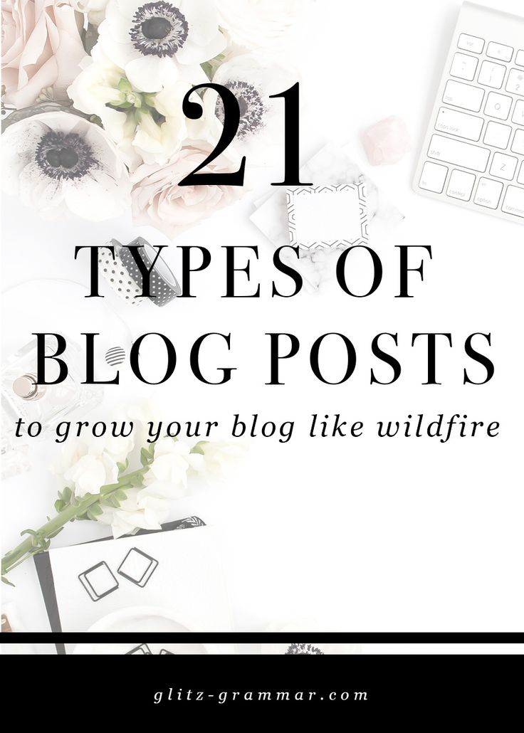 I've rounded up the 21 types of blog posts you need in your arsenal, so if you're ever out of blog post ideas you can quickly reference this guide to get your gears going again. blogging for business, blogging 101, how to blog, blogging for beginners, blog tutorials, how to write a blog post, blog post ideas, blogging tips, blogging ideas, online business.