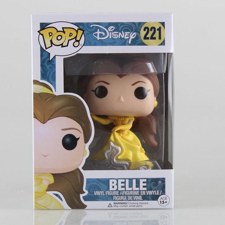 Funko Pop Princess Belle 10 cm Figuras de Acción #2239 Niños Brinquedo Regalo de Cumpleaños Envío Gratis