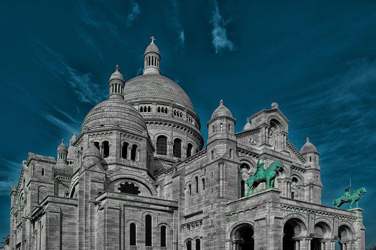 Sacre Coeur, Paris, Kirke, Frankrig