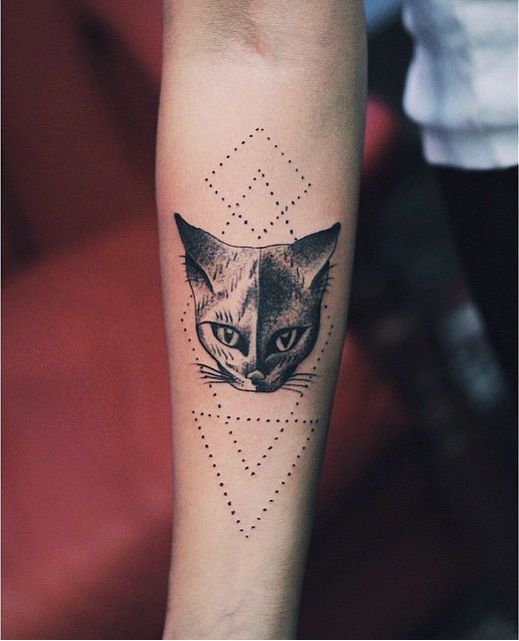 Tattoo Ideas Cats: 77 Best Images About Cat Tattoo On Pinterest