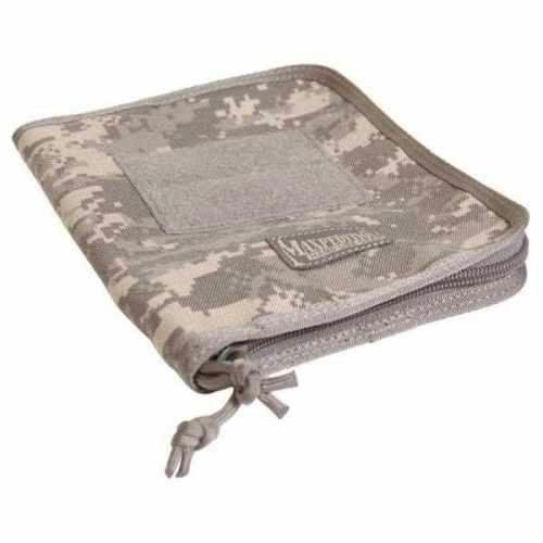 """Field Binder Cover (Digital Foliage Camo by Max. $16.19. Product Features:Overall size approx. 8.5"""" x 6.75"""" x 1""""Fits Rite In The Rain Tactical Field Binder (5-5/8"""" x 7-1/2"""")Dual zipper clamshell openingInterior left: four (4) pen slots plus holder for a Fisher® Space PenInterior right: two slip pocketsExterior 3"""" x 4"""" loop field for patchesProduct Materials:1000-Denier water and abrasion resistant light-weight ballistic nylon fabricTeflon® fabr..."""