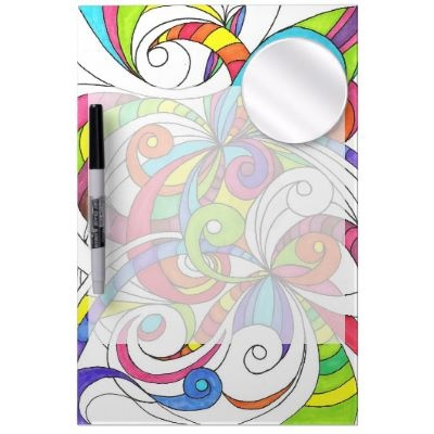 Dry Erase Board Floral abstract background  http://www.zazzle.com/dry_erase_board_floral_abstract_background-256238869862471877