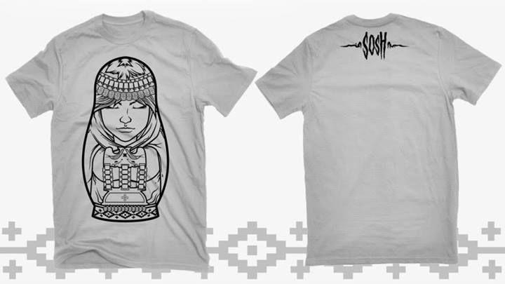Mapushka t-shirt by Sosh.  polera mapushka por sosh.