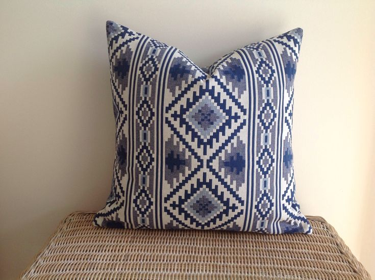 A personal favourite from my Etsy shop https://www.etsy.com/au/listing/589910949/kasbah-ikat-jacquard-tapestry-cushion