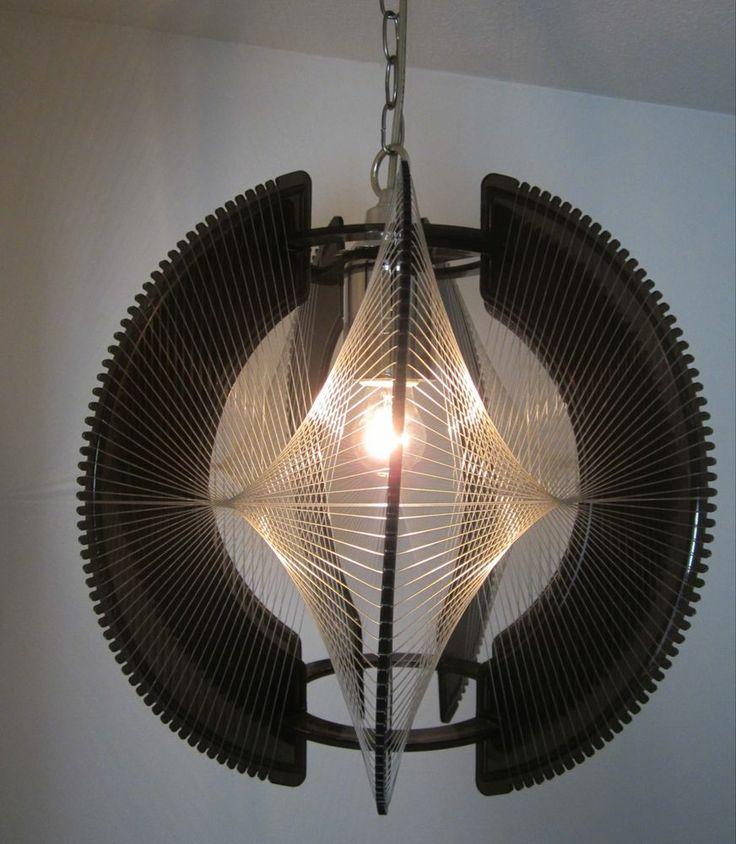 mid century forward vintage mid century modern light fixture hanging