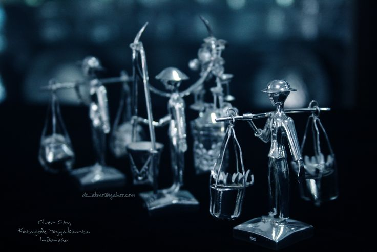 Craft - Silver Yogyakarta, Indonesia