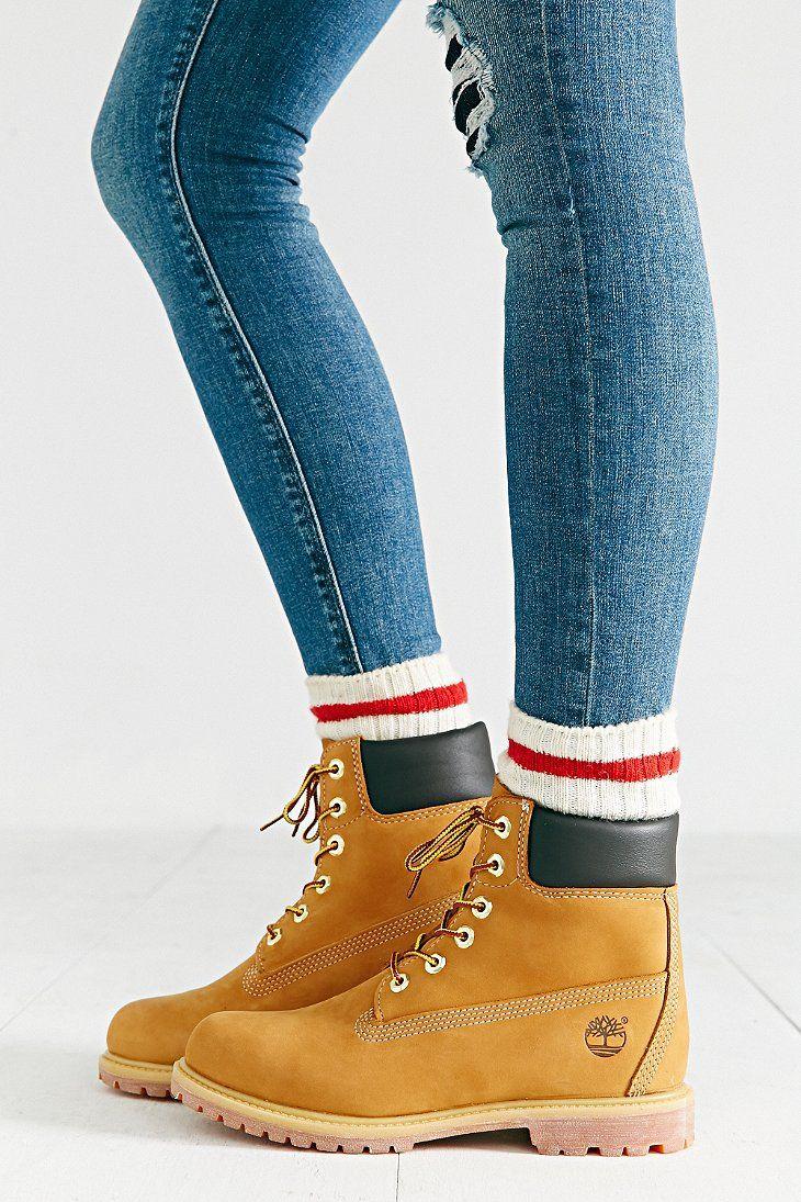 Timberland Premium Work Boot...@urbanoutfitters.