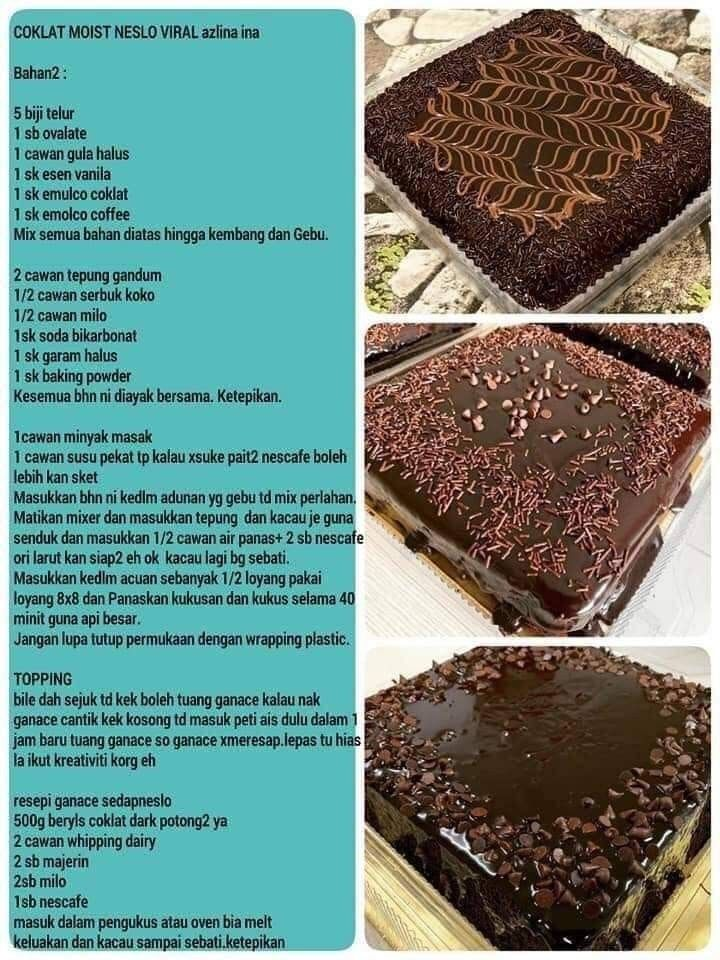 Pin On Chocolate Cake Recipe