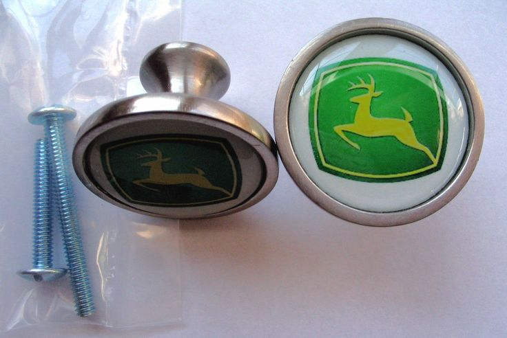 John Deere Kitchen Cabinet Knobs
